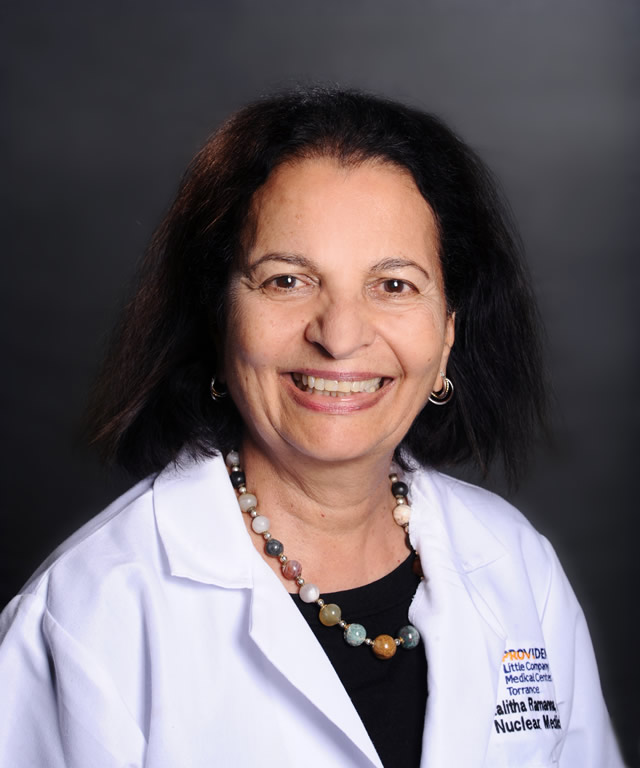 Lalitha Ramanna, MD Radiologist South Bay Los Angeles
